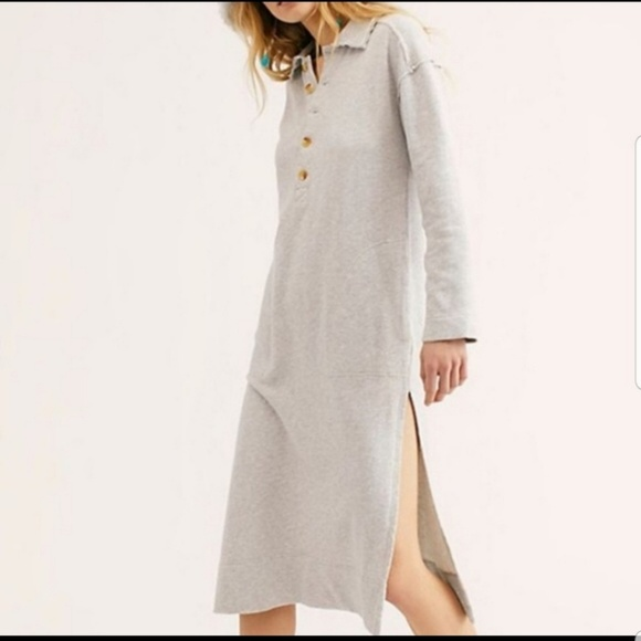 Free People Dresses & Skirts - Free people On My Way Polo Pullover